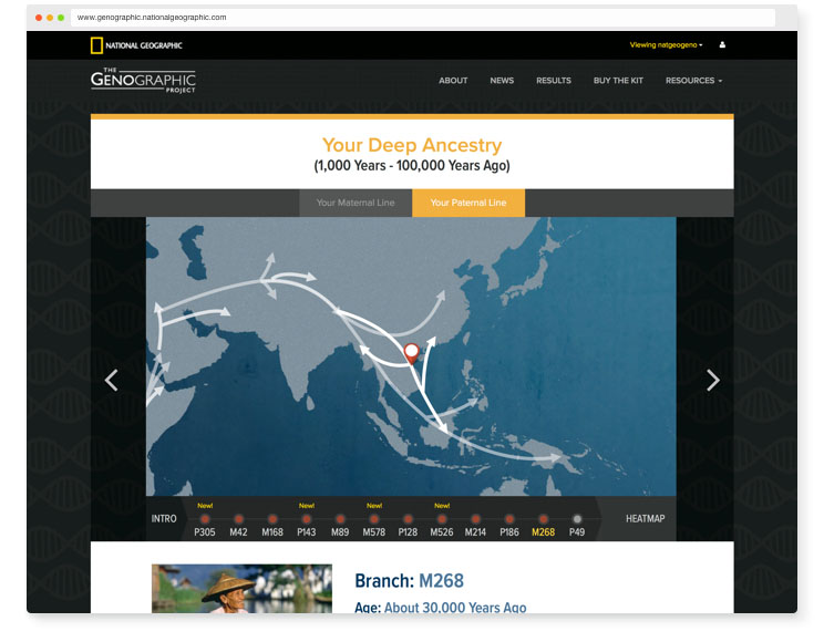 Discover the complete story of your ancestors' journey from , years ago to today with National Geographic's Genographic Project and our Ancestry DNA kit, Geno